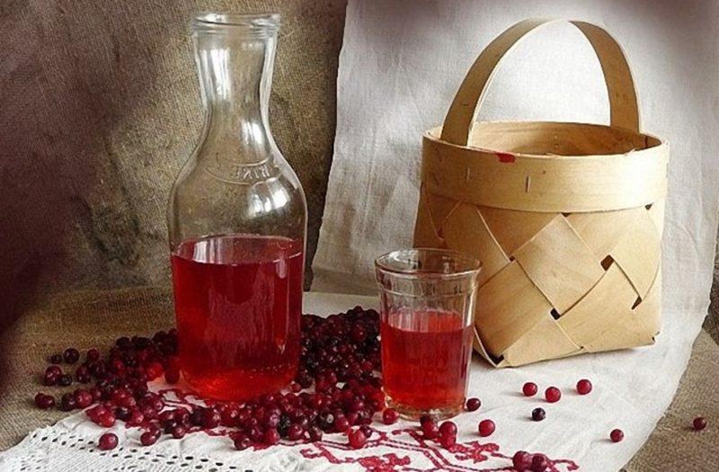 Сделать вино из брусники в домашних условиях 735