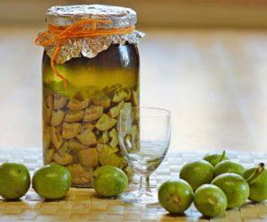 Настойка грецкого ореха на водке – народный лекарь, проверенный годами