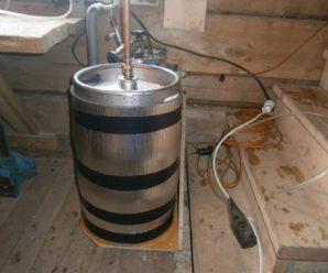 Как сделать самогонный аппарат, используя готовую емкость – пивной кег