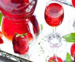 Клубничная настойка на водке (самогоне, спирту) для здоровья и настроения